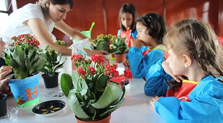 4-6 Yaş Bitki Atölyesi -Düş Bahçesi