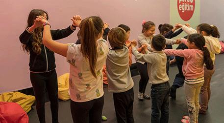 Çocuklar için Ses ve Hareket Atölye