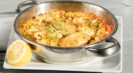 Deniz Ürünlü Paella