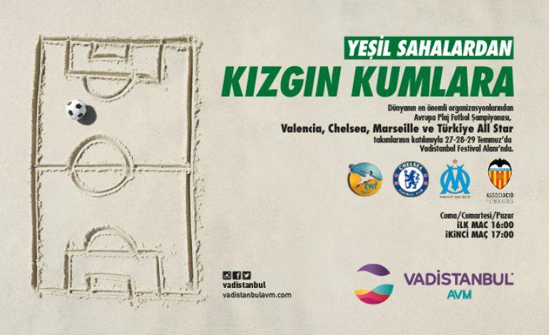 İstanbul Cup 2018 Plaj Futbolu Turnuvası