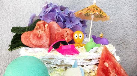 Kağıt Helvadan Yaz Pastaları