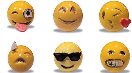Masterpiece Ankara Heykel - Emoji