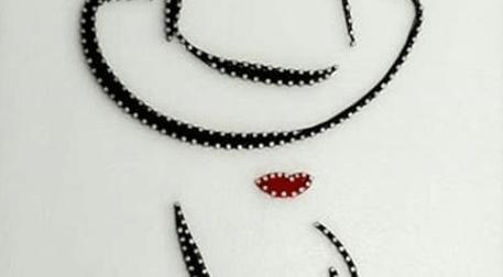 Masterpiece Ankara String Art - Fem