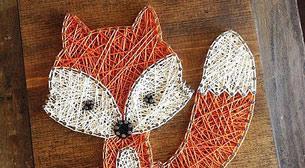 Masterpiece Ankara String Art -Tilk