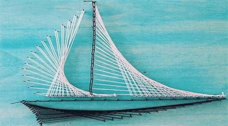 Masterpiece Ankara String Art - Yel