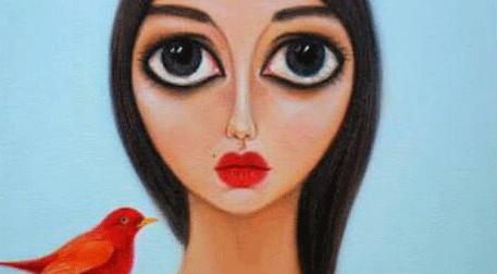 Masterpiece Bostancı Resim - Kızıl