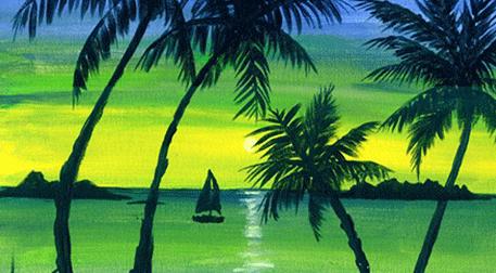 Masterpiece Bostancı Resim - Tropik