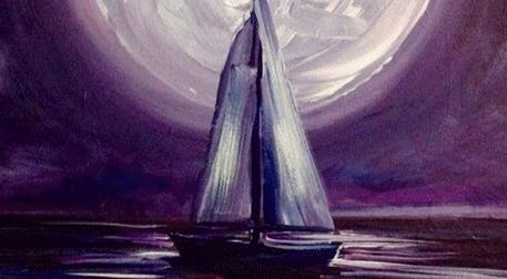 Masterpiece Galata Resim - Ay Işığı
