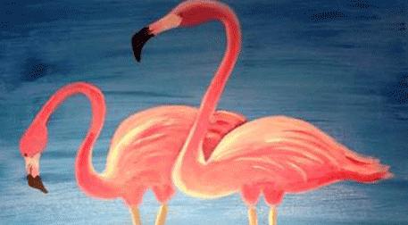 Masterpiece Galata Resim - Flamingo