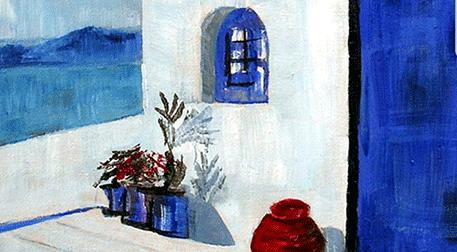 Masterpiece İzmir Resim - Santorini