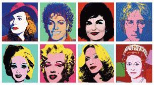 Pop Art - 50 Farklı Görsel