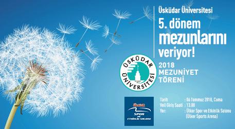 Üsküdar Üniversitesi 2018 Mezuniyet