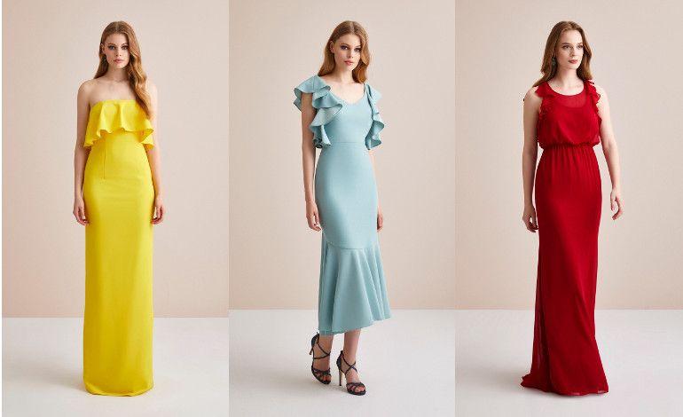 En Renkli Elbiseler
