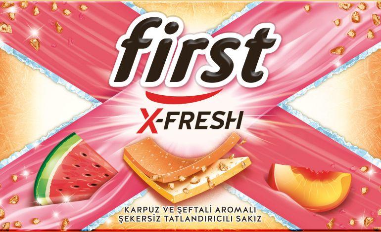 First X-Fresh Yeni Lezzetlerle Büyüyor
