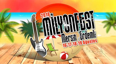 Milyonfest Mersin Cumartesi
