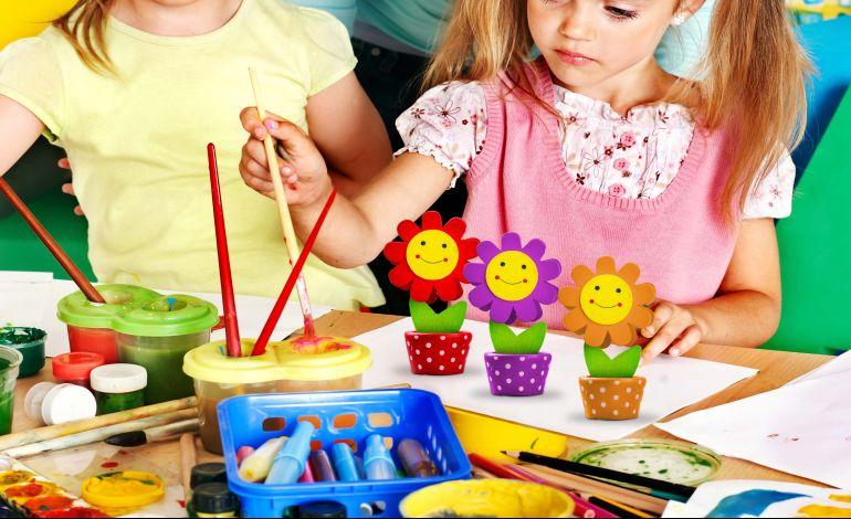 Trumpland'de Çocukları 'Ahşap Çiçek Atölyesi' Bekliyor