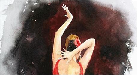 Masterpiece Bursa Resim -Flamenko
