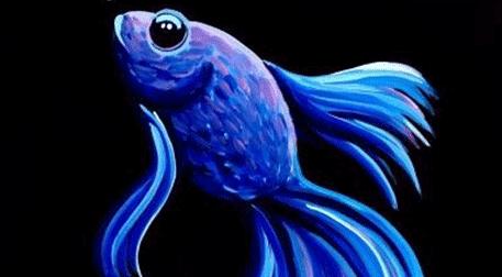 Masterpiece Galata Resim - Mavi Bal
