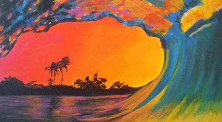 Masterpiece İzmir Resim - Big Waves