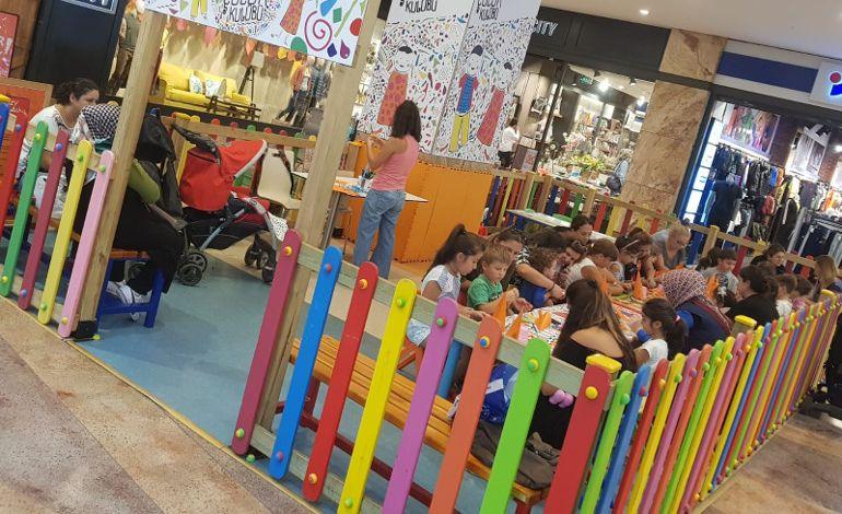 Renkli ve Eğitici Atölyeler Kozzy AVM'de
