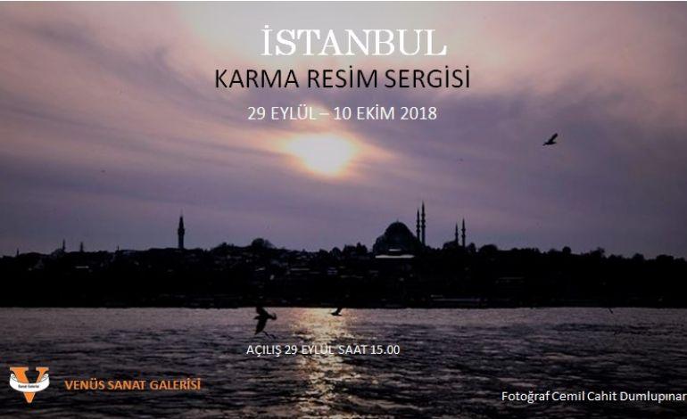 """Venüs Sanat Galerisi Sezonu """" İstanbul """" ile Açıyor"""