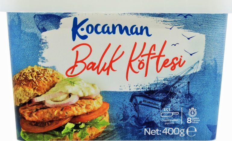 Çocuklara Balığı Sevdiren Köfte! Kocaman Balıkçılık'tan Yepyeni Balık Köftesi