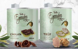 Egemden'den İki Yeni Gurme Lezzet; Çikolatalı ve Trüflü Zeytinyağı