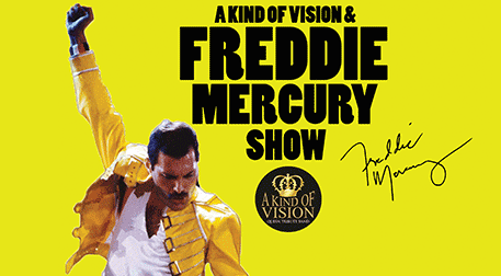 A Kind Of Vision & Freddie Mercury