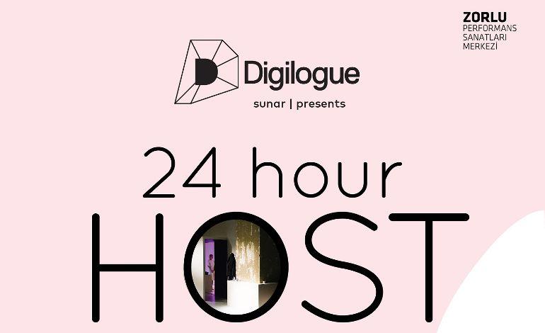 """Yapay Zeka ile İnsanın İşbirliğinde 24 Saatlik Buluşma: """"24H Host"""""""