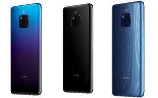 Huawei Mate 20 Serisi Daha üçlü, Daha Akıllı