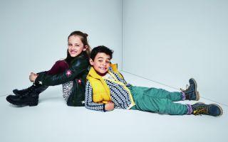 Sonbaharda Çocuklar Deıchmann ile Çok Renkli