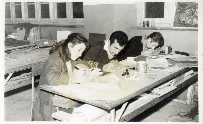 1932' den 1973' e Gazi Resim - İş, İdealist Mektep, Üretken Atölye