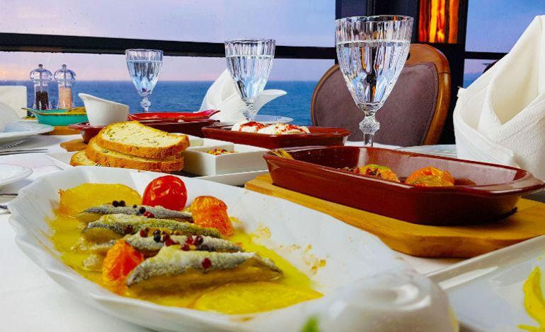 Meos'ta Denize Nazır Balık Keyfi