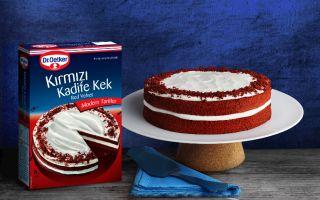 Dr. Oetker Kırmızı Kadife Kek