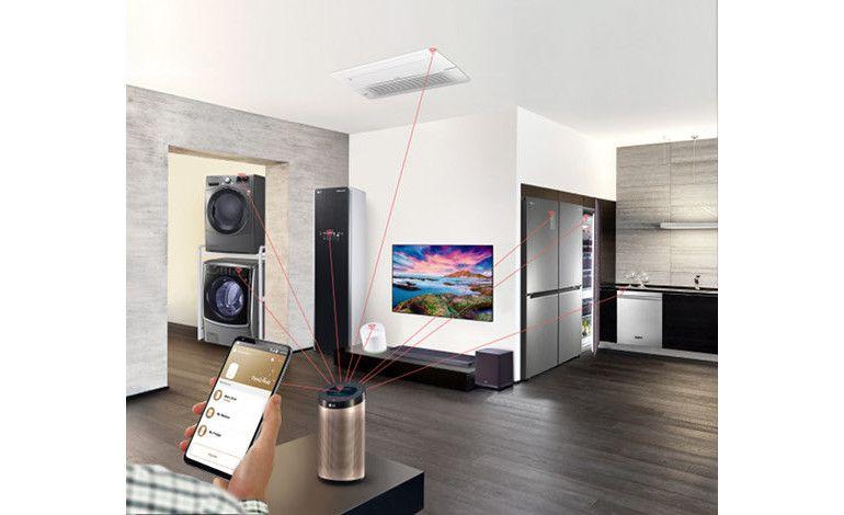 LG Teknolojisiyle Evler Daha Akıllı, Yaşam Çok Daha Kolay!