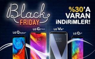LG'de Black Friday'e Özel İndirim Kampanyaları Başladı