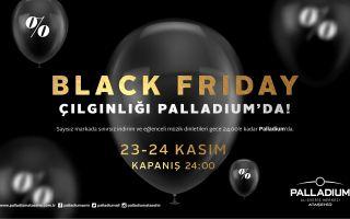 Palladium'da Black Friday İçin Geri Sayım Başladı