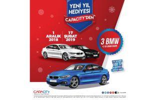 Yeni Yılda Otomobiliniz Capacity'den Hediye