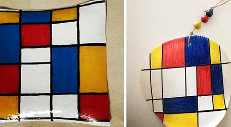 Bir Tabak Mondrian (6 - 12 Yaş)