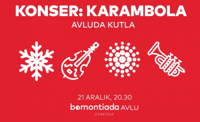 Bomontiada'dan Erken Yeni Yıl Kutlaması