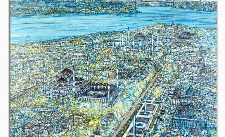 Devrim Erbil Eserleriyle İstanbul Art Show'da!
