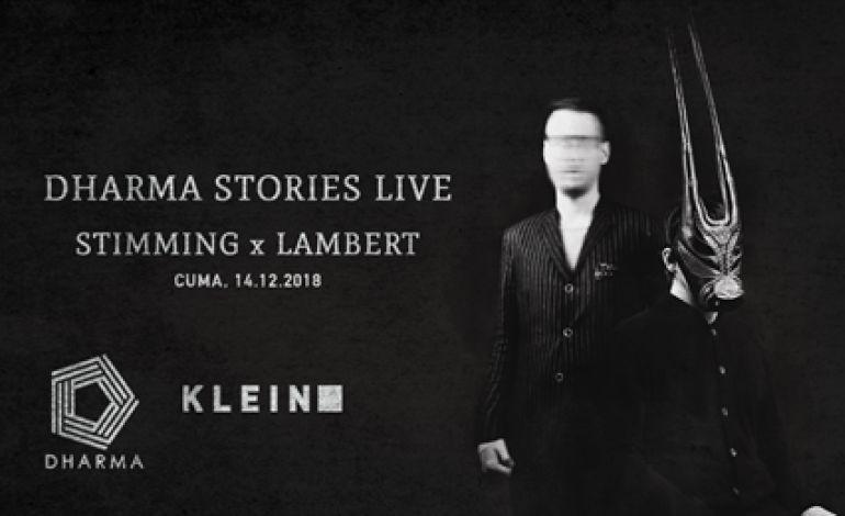 Dharma Stories Live w/ Stimming + Lambert