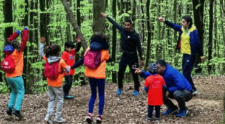 Gymy Kids Ormanda Spor Atölyesi