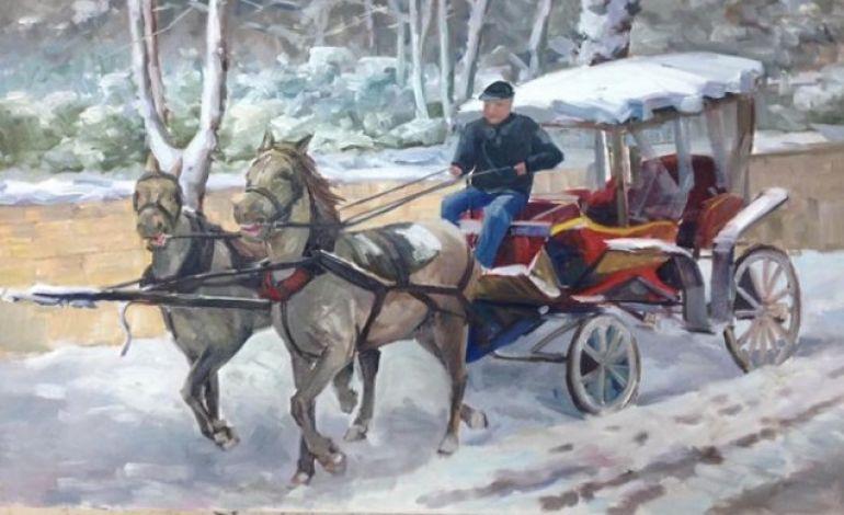 Kış Temalı Karma Resim Sergisi 6