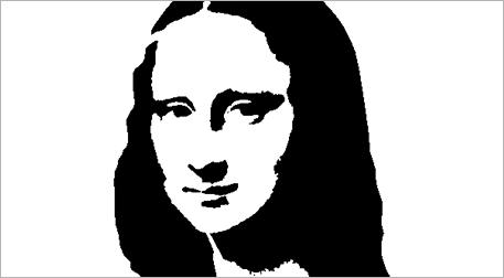 Masterpiece Bostancı Resim - Mona L