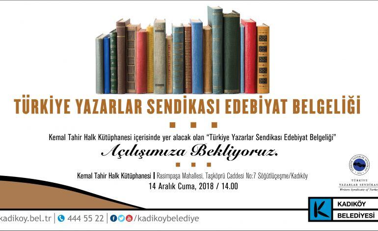 Nazım Hikmet' ten Cemal Süreya' ya Yazarlar Kadıköy' de