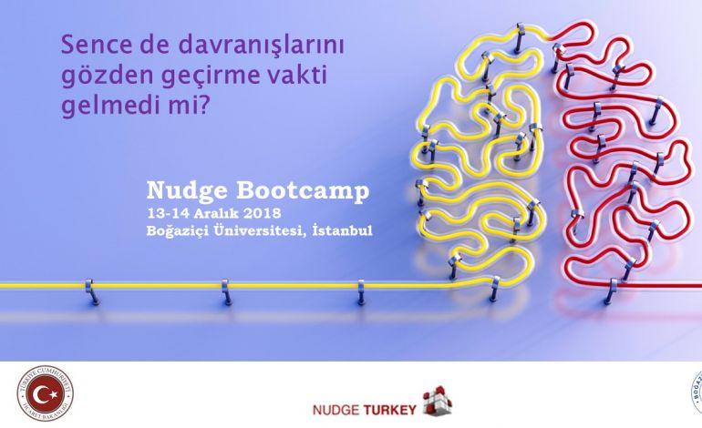 Nudge Bootcamp Boğaziçi Üniversitesi'nde