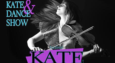 Violinist Kate ve Dans Show