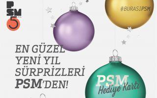 Zorlu PSM'den Sanatseverlere Yılbaşı Sürprizi!