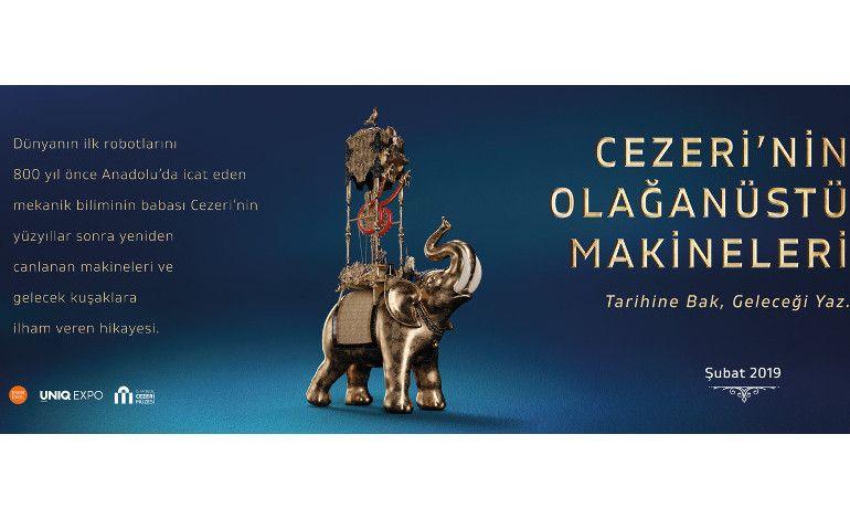 Cezeri'nin Olağanüstü Makineleri Sergisi